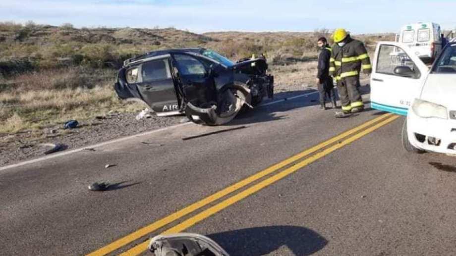 En un Citroen Air Cross viajaban cinco ocupantes, tres de ellos menores que murieron en un accidente en la Ruta 22.