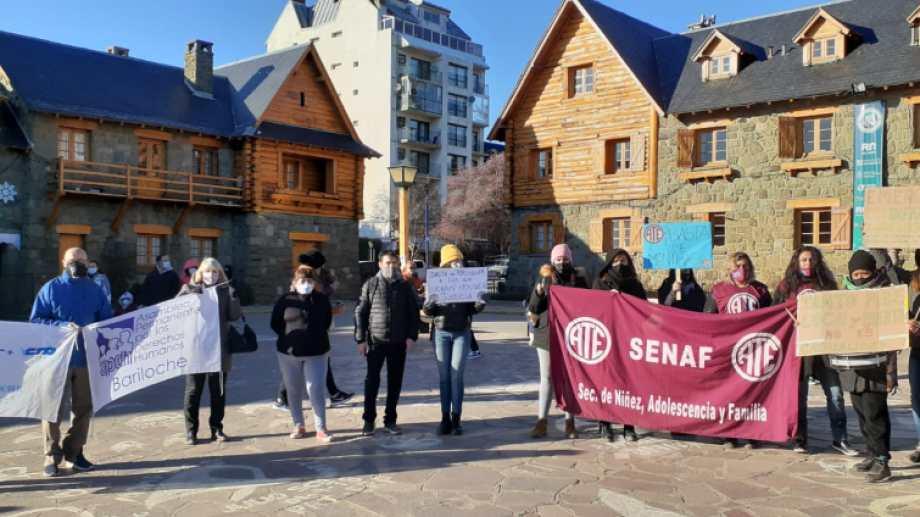 ATE continuará el plan de lucha por los trabajadores de la Senaf. Foto: gentileza