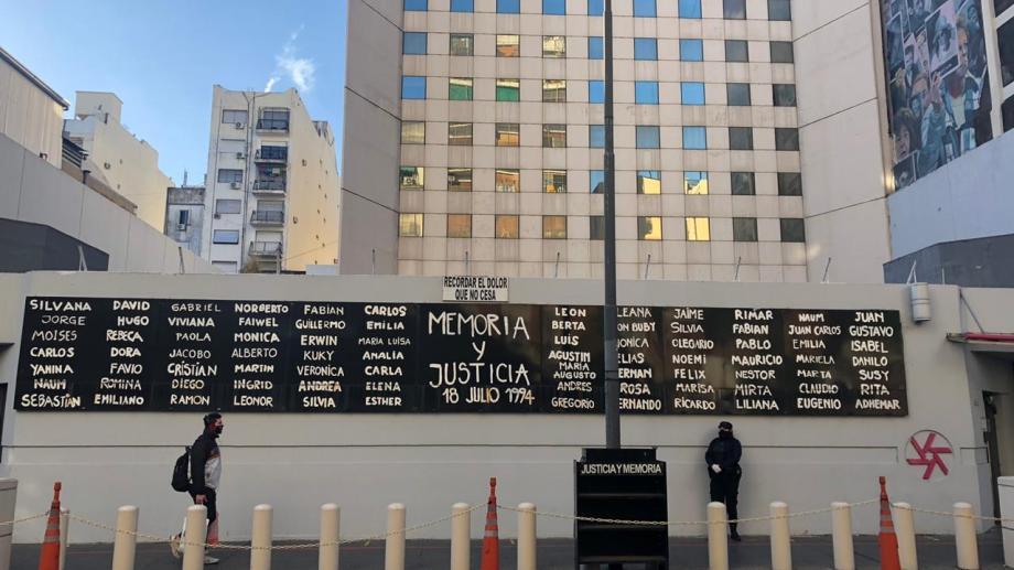 La AMIA realizó un acto virtual por los 27 años del atentado terrorista.