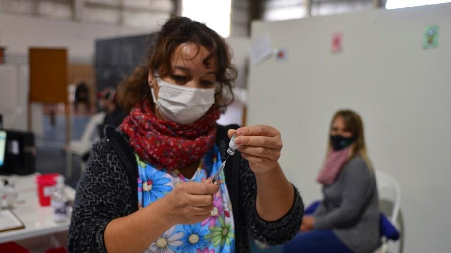 La campaña de vacunación en Bariloche continúa este viernes y sábado. Foto: archivo