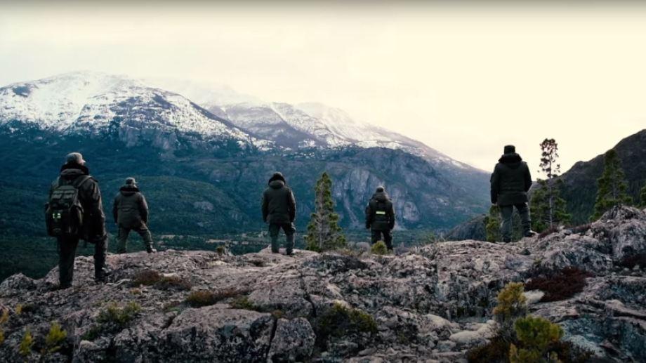Gendarmería custodia los sitios cordilleranos y los pasos fronterizos.  Foto: Captura de video.