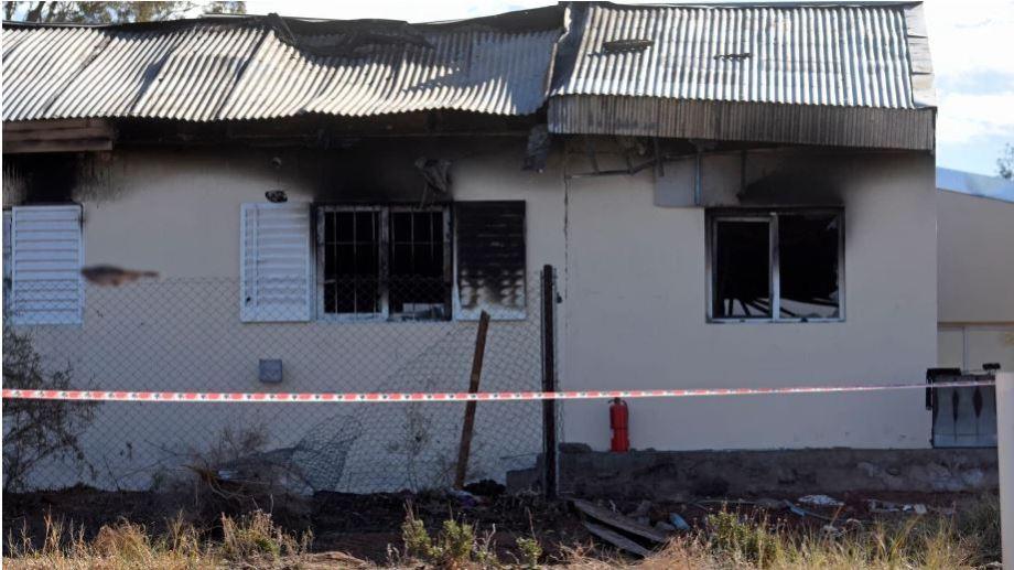 El incidente ocurrió el martes 29 de junio en el albergue de niñas. Foto: Florencia Salto.