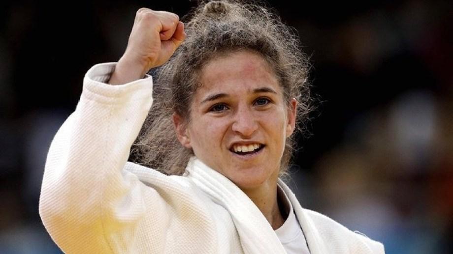 La Peque Pareto quedó afuera de la pelea por una medalla en Tokio. Gentileza.