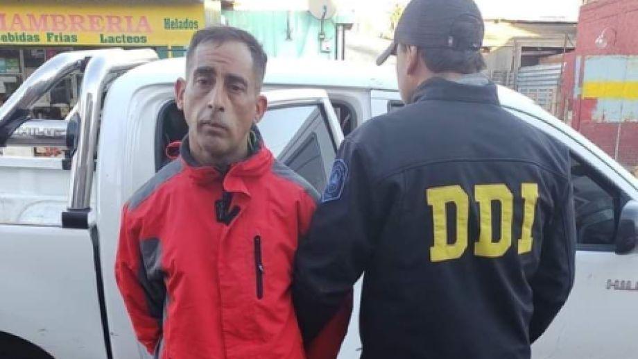 Acevedo fue detenido en Isidro Casanova.