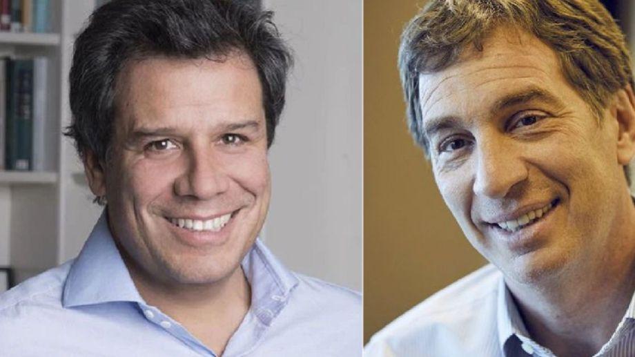 Facundo Manes y Diego Santilli competirán en las PASO por el primer lugar en la lista.