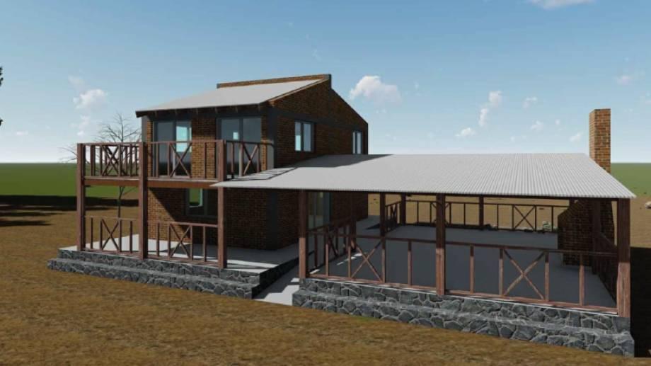 Proyecto de la nueva edificación para el acceso al Bosque Petrificado de Valcheta.