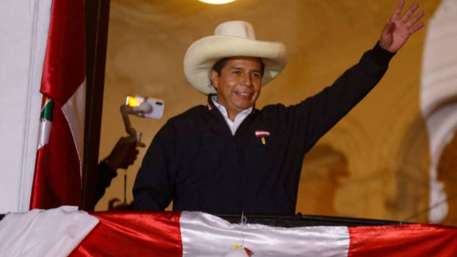 Pedro Castillo asumirá el 28 de julio.