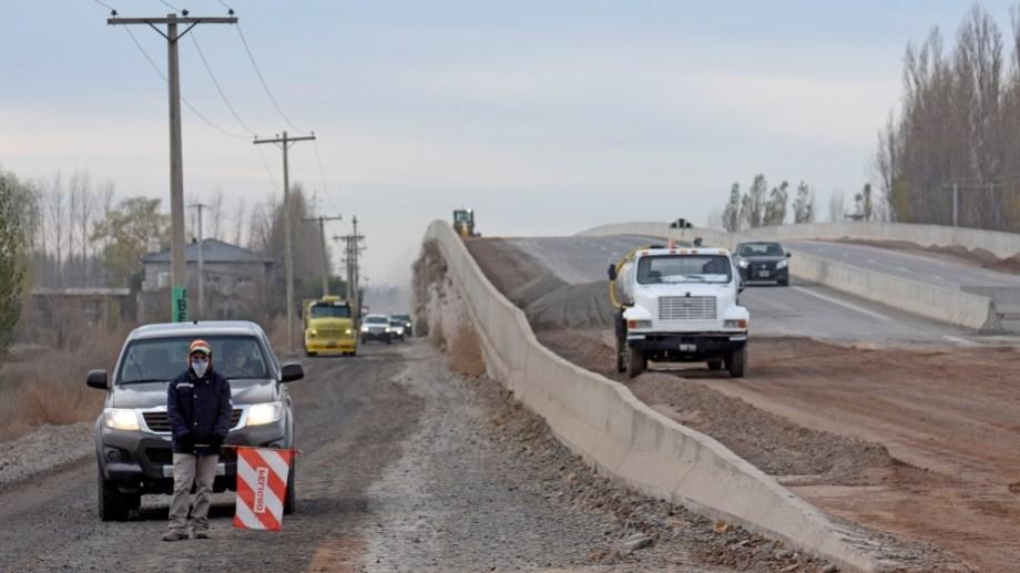La habilitación de los puentes permitiría concentrar los trabajos futuros en la zona de colectoras.