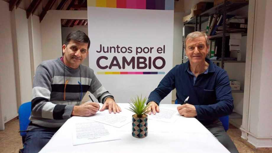 Acevedo (ARI) y Tortoriello (PRO), alianza básica y el cipoleño busca nuevas adhesiones sectoriales.