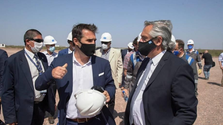 El secretario de Energía, Darío Martínez, destacó el impacto del Plan Gas.Ar en los niveles de producción.