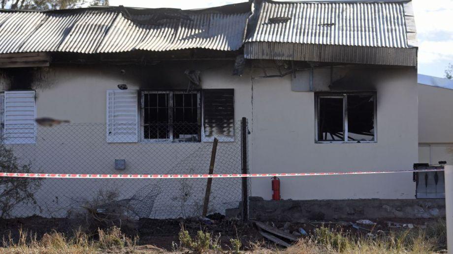La explosión en la escuela de Aguada San Roque dejó tres víctimas fatales. Foto: archivo Florencia Salto.