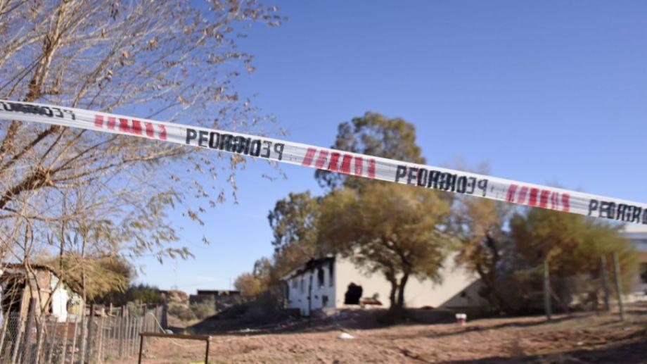 La explosión en la escuela albergue de Aguada San Roque dejó tres víctimas fatales. Foto: archivo Florencia Salto