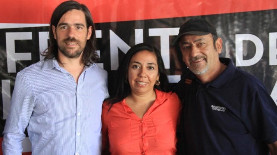 El PTS hizo su XVIII Congreso y Del Caño impulsó a los precandidatos a diputados en Río Negro y Neuquén: Laura Santillán y Raúl Godoy.