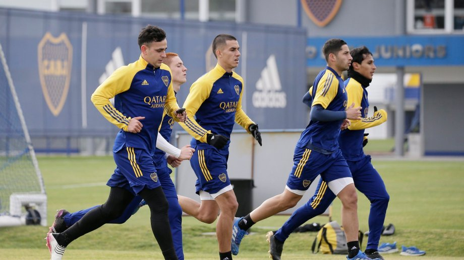 Boca tendrá un equipo suplente en el comienzo de la Liga Profesional ante Unión. Foto: prensa Boca