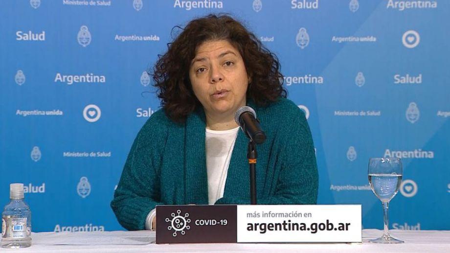 """""""Argentina confía mucho en las vacunas"""", dijo la ministra de Salud Carla Vizzotti"""