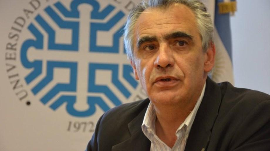 El rector Crisafulli explicó que el impacto de la virtualidad fue dispar en el estudiantado. (Archivo).-
