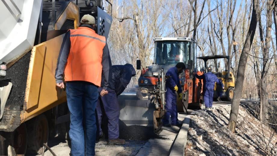 Los últimos tramos de ejecución del Paseo de la Costa, sector confluencia de los ríos Neuquén y Limay (gentileza)