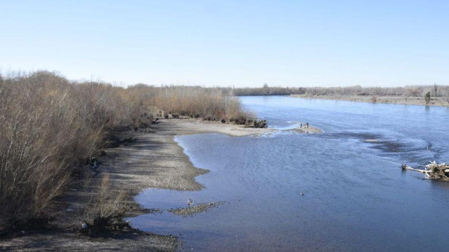 Los ríos y embalses de la región tienen niveles bajos de agua. (Florencia Salto)