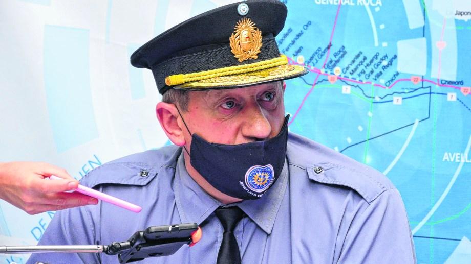 La designación del actual jefe de Policía fue fue para reemplazar a Jorge Jara, al frente de la institución en los tres años anteriores. Foto: Marcelo Ochoa.
