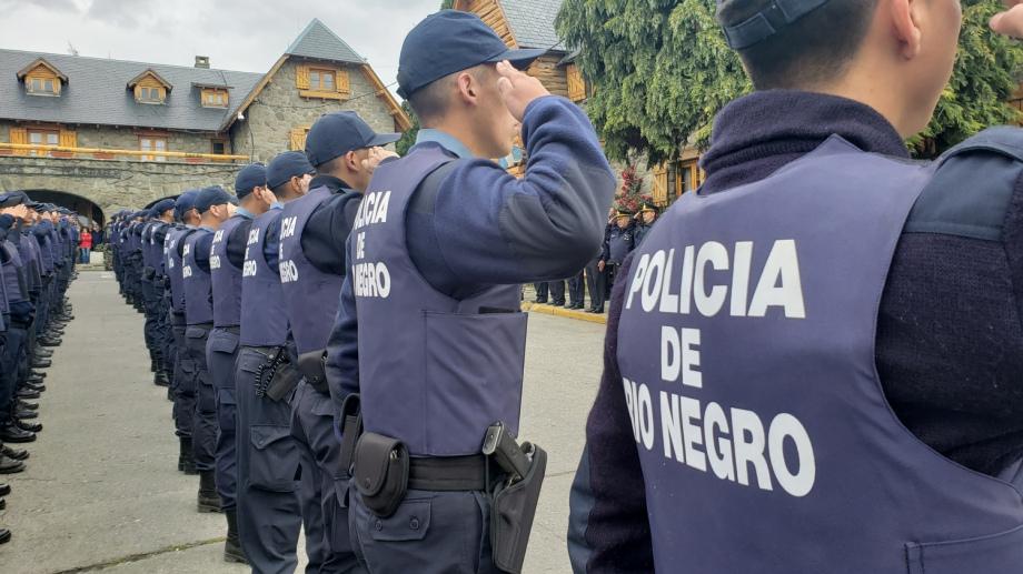 Bariloche cuenta a partir de hoy, con 100 agentes más; El Bolsón, con 20. Foto: archivo