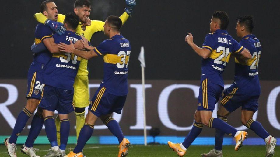 Boca fue certero en los penales y se quedó con la clasificación a cuartos.