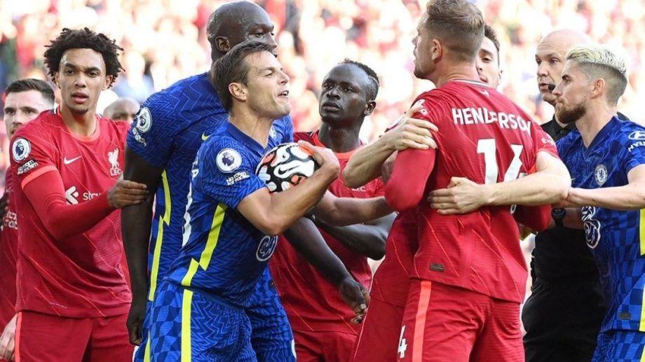 Liverpool y Chelsea no se sacaron ventajas.