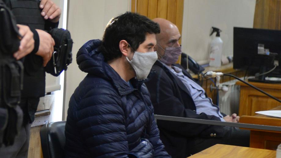 Matías Vazquez durante la audiencia de este miércoles. Foto: Chino Leiva