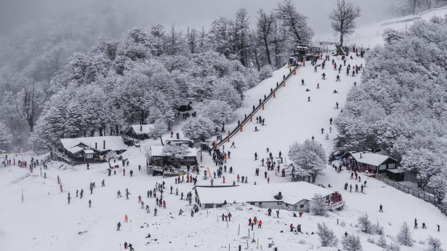 Cerro Bayo inició el viernes 9 de julio su temporada de invierno 2021 y siempre estuvo abierto. Fotos gentileza Cerro Bayo.