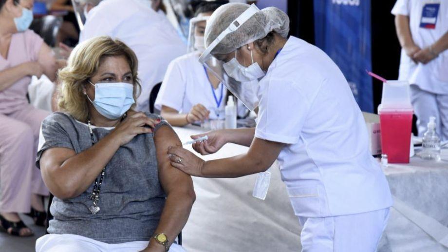 """Según informó Vizzotti, agosto """"será el mes de las vacunas"""" para avanzar en la inmunización de cara a septiembre. Foto: Télam.-"""