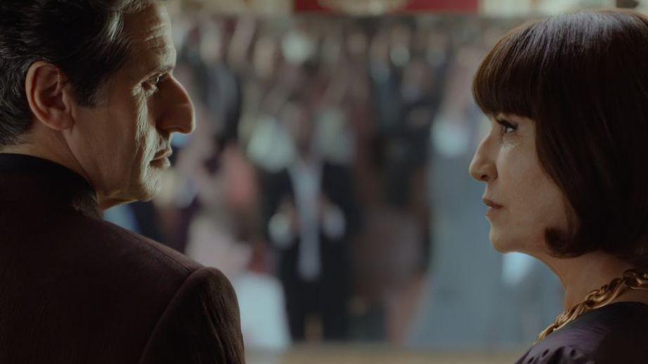 Diego Peretti y Mercedes Morán forman parte del elenco principal de la serie, que se llevó todas las miradas.-