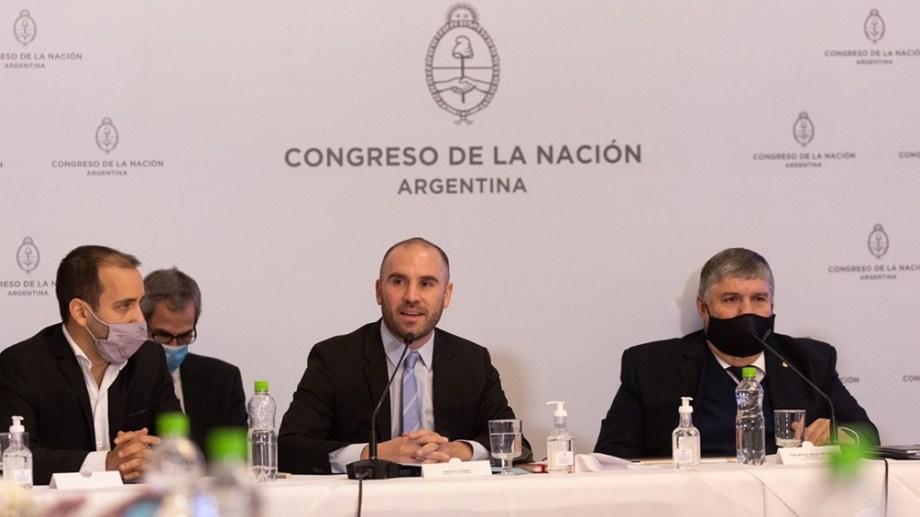 """Guzmán habló de un """"endeudamiento insostenible"""" durante la gestión de Macri. (Foto: Télam)"""