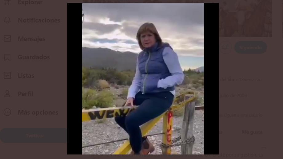 Repudian a Patricia Bullrich por un video sobre Santiago Maldonado.