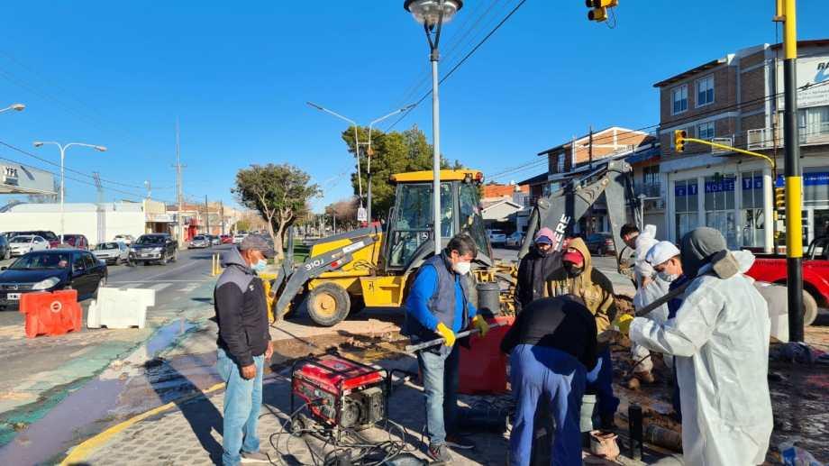 El último fin de semana, los vecinos del sur volvieron a sufrir cortes en el suministro. Foto: Andrea Vázquez