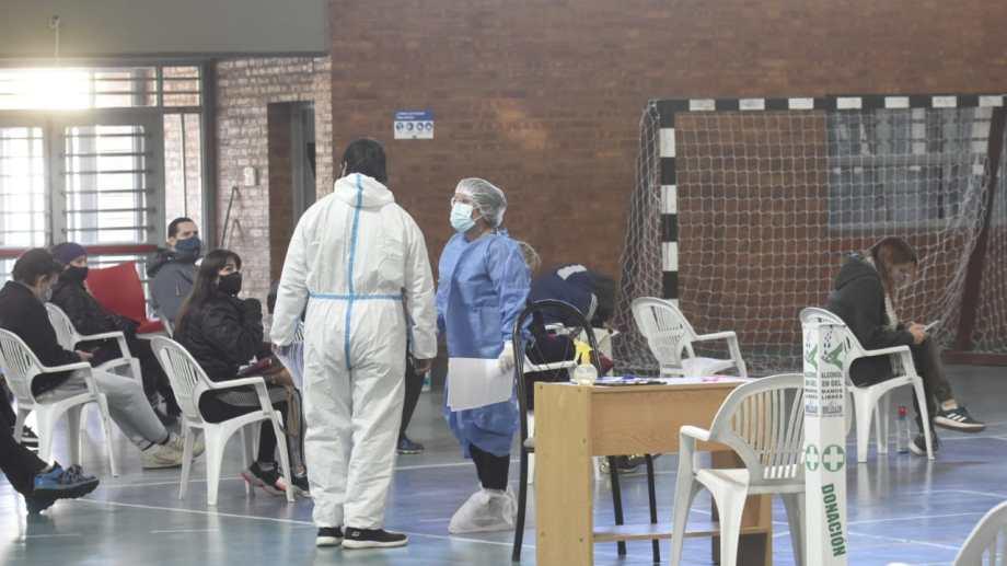 Los contagios descendieron en toda la provincia de Neuquén. Foto: archivo Florencia Salto