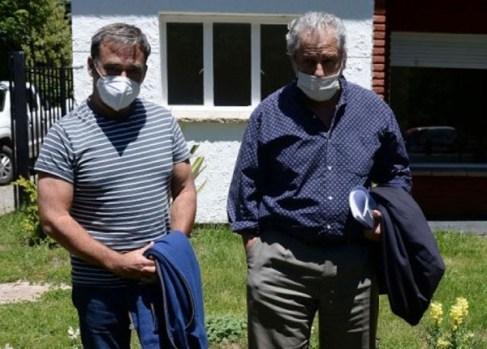 Diego Frutos y Diego breide