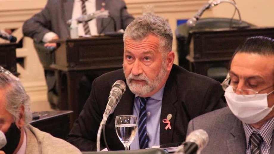 El diputado provincial baleado en Corrientes.