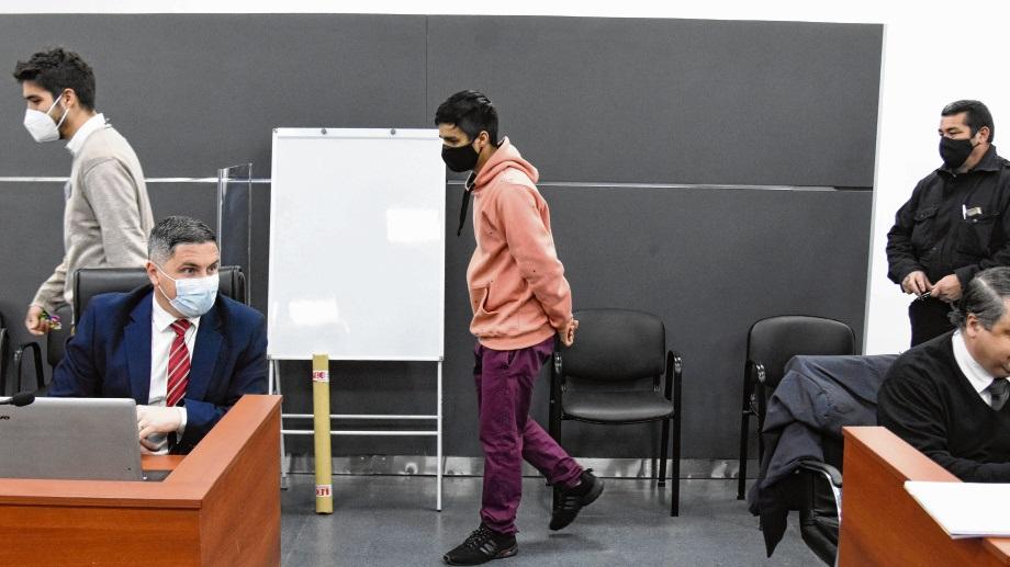 Exequiel Rebolledo es el único imputado en la causa y está con prisión preventiva desde marzo del año pasado. (Florencia Salto)