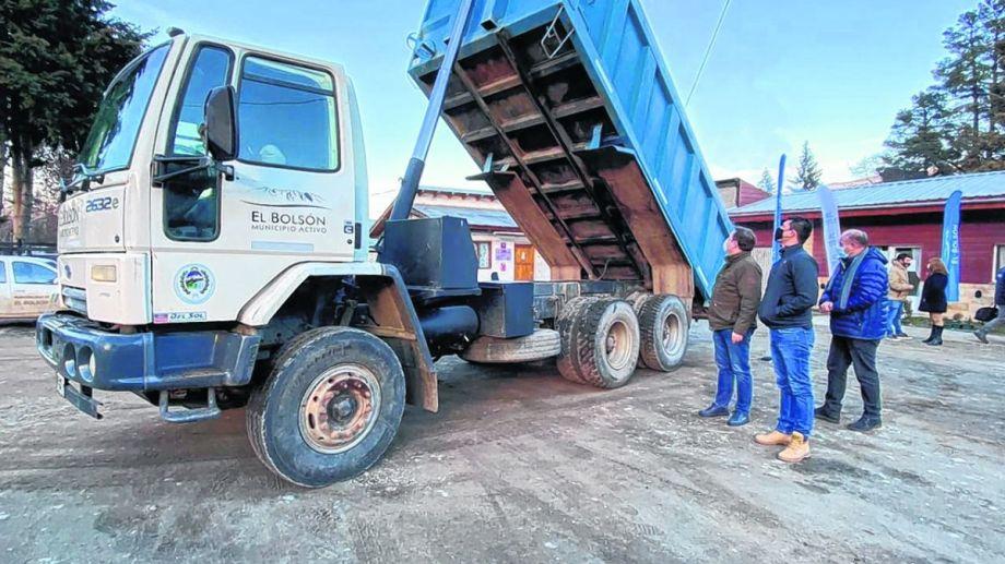 El vehículo fue presentado por las autoridades municipales esta semana. Foto: Gentileza