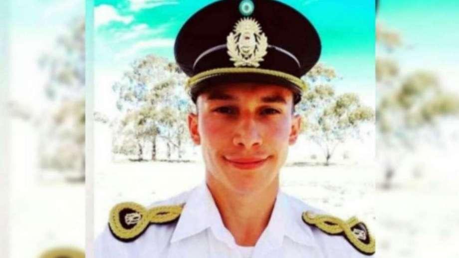 Gabriel Emanuel Mandagaray murió el 15 de abril durante un ejercicio en Bahía Creek.