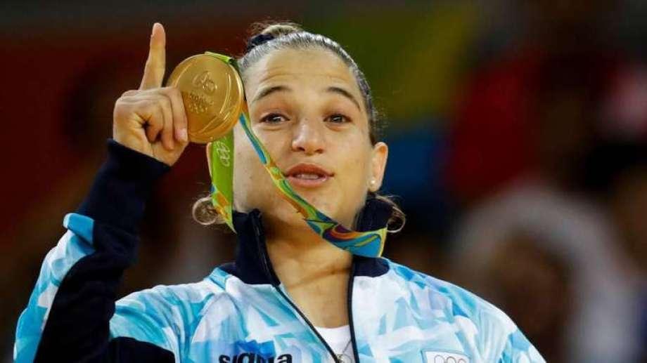 Paula Pareto fue Oro en Río 2016.