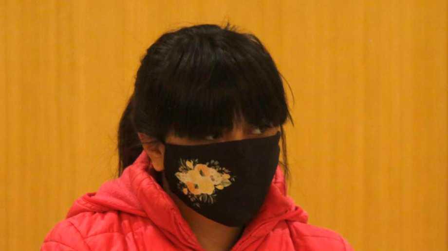 """En el juicio, Miranda pidió que se castigue al """"asesino"""" de su hija. Hoy se evaluará la condena que podría recibir. Foto: Juan Thomes."""