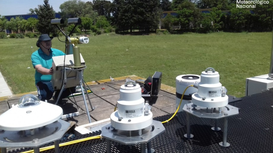 En red. Las mediciones de la radiación servirán como referencia para diferentes actividades con energía solar en Argentina