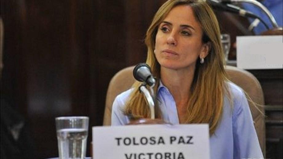 Victoria Tolosa Paz, precandidata a diputada por el Frente de Todos.   Foto: archivo
