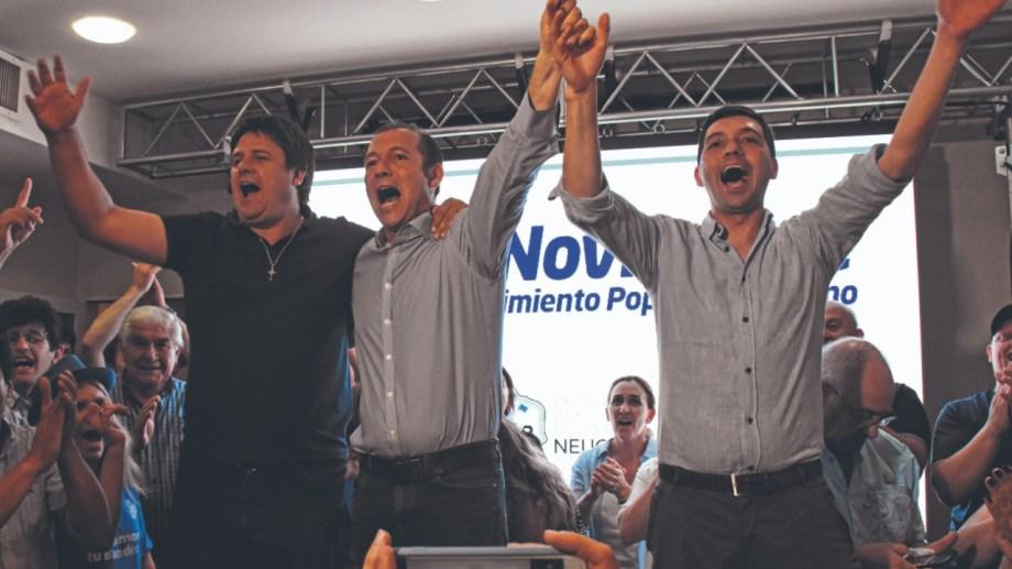 Gutiérrez y Koopmann, la fórmula del triunfo en las internas partidarias de 2018. Foto: Archivo Florencia Salto
