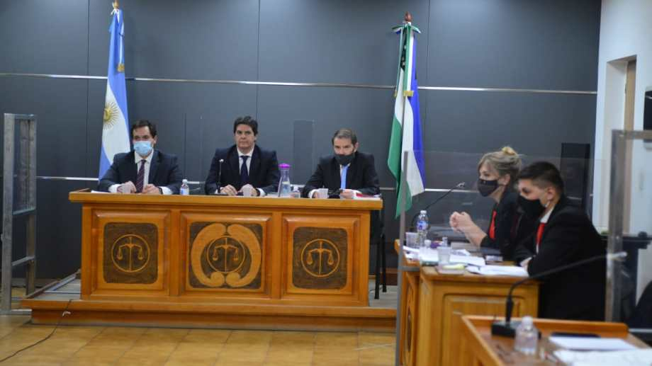 Hoy se inició el juicio oral y público por el homicidio culposo de Lucas Caro, en Bariloche. Foto: Alfredo Leiva