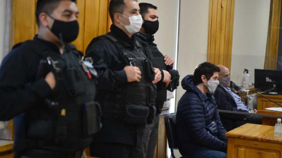 Matías Vázquez  participó de todas las audiencias del juicio en su contra. Foto: Chino Leiva
