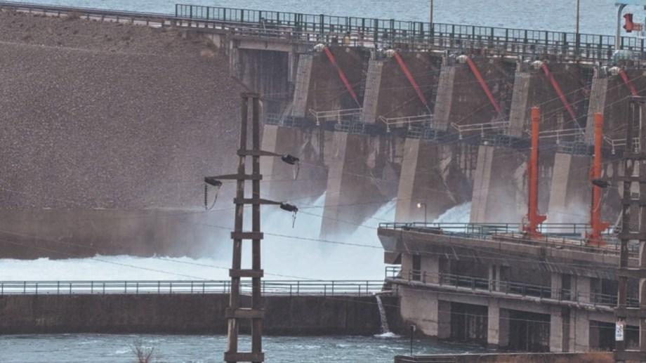 Arroyito funciona en sintonía con la represa de El Chocón. Ambas son operadas por la firma Enel.  Foto: Archivo