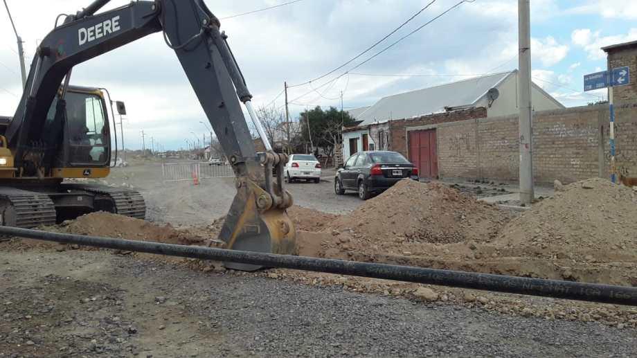 Por una obra de gas se cortará la circulación en calle Jorge Newbery.