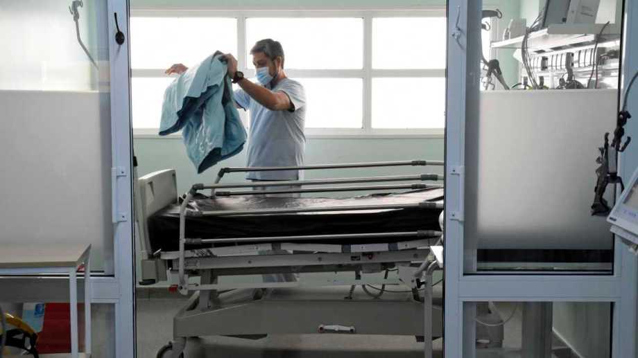 En el transcurso de la pandemia ya murieron 455 personas en Bariloche, según los datos oficiales. (foto de archivo)