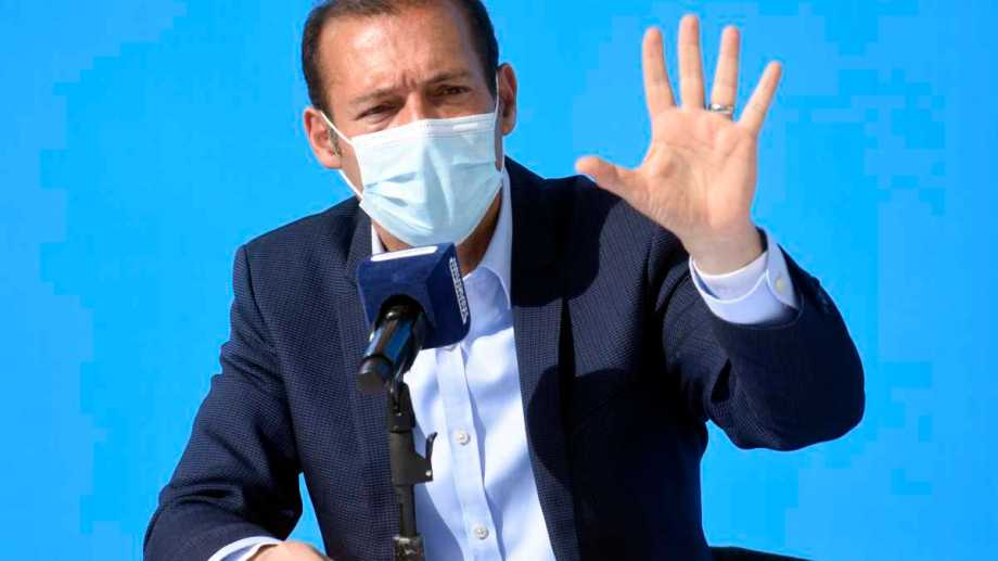 El gobernador de Neuquén dijo que para octubre se alcanzará la inmunidad colectiva en Neuquén. Foto: archivo.